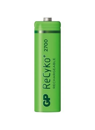 GP Gp Recyko 2700 Serisi Aa Şarjlı Kalem Pil 6'Lı (4+2) Ambalaj Renksiz